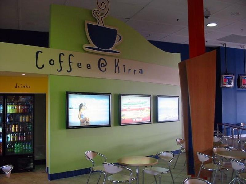 Commercial Painters Coffee Kirra at Coolangatta Airport