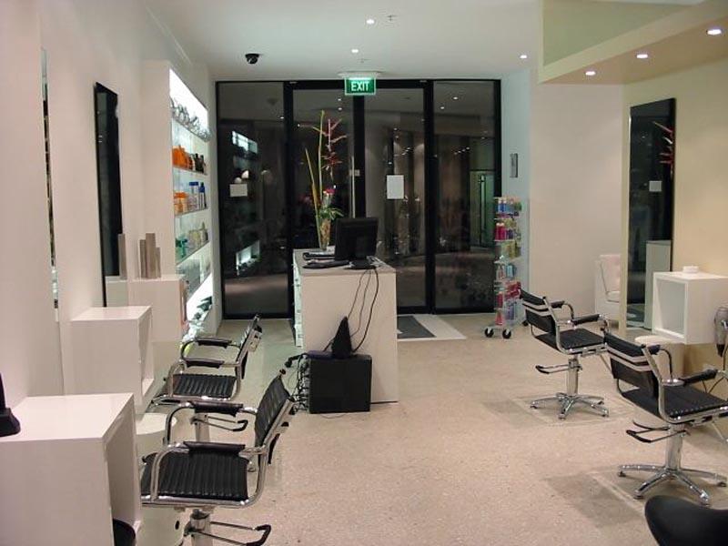 Painting Hair Dressing Salon